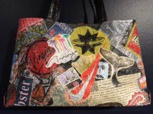 Label Conscious Shoulder Bag